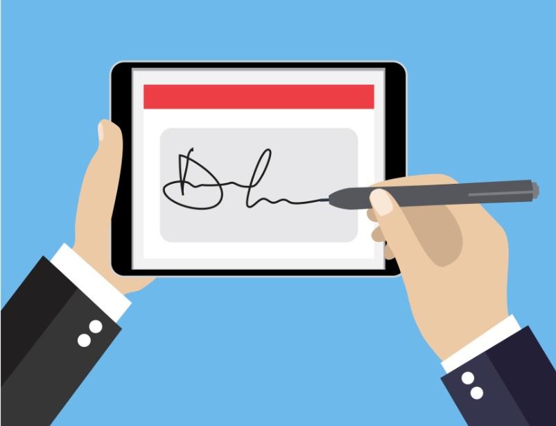 """众安科技区块链加持 电子签章实现""""说签就签"""""""